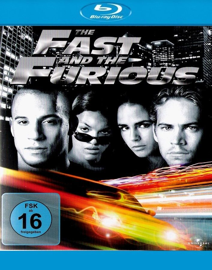 the fast and furious paul walker blu ray 052 5050582721485 ebay. Black Bedroom Furniture Sets. Home Design Ideas